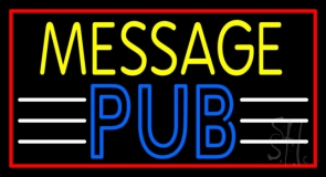 Custom Pub Neon Sign