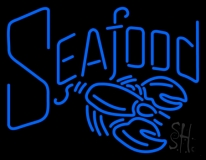 Seafood Neon Sign