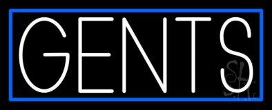 Gents 1 LED Neon Sign