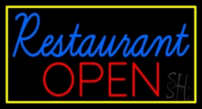 Restaurant Open 1 Neon Sign