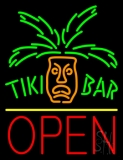 Tiki Bar Open Neon Signs