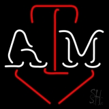 Red White Atm Neon Sign