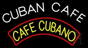 Cuban Cafe LED Neon Sign