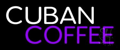 Cuban Coffee LED Neon Sign