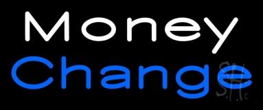 Money Change Neon Sign