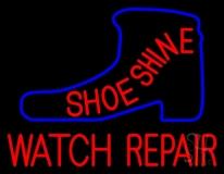 Shoeshine Watch Repair Neon Sign