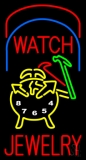 Watch Jewelry Logo Neon Sign