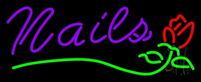 Nails Neon Sign