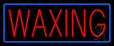 Waxing Neon Sign