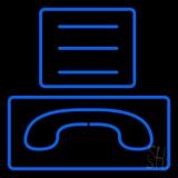 Fax Logo Neon Sign