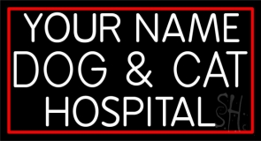 Cat And Dog Hospital Neon Sign