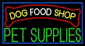 Dog Food Shop Neon Sign