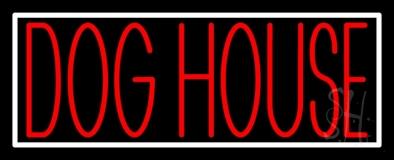 Dog House Block 2 Neon Sign