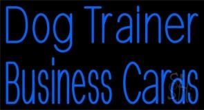 Dog Trainer 1 Neon Sign