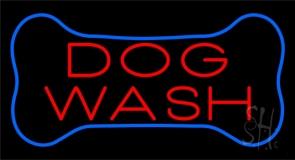 Dog Wash Block Neon Sign