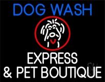 Dog Wash Neon Sign