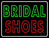Double Stroke Bridal Shoes LED Neon Sign