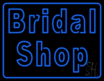 Double Stroke Bridal Shop LED Neon Sign