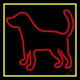 Logo Dog 2 Neon Sign