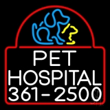 Pet Hospital Neon Sign