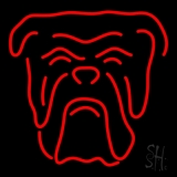 Red Bull Dog Logo Neon Sign