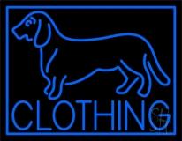 Blue Dog Clothing Neon Sign
