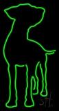 Dog Neon Sign