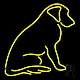 Dog With Logo LED Neon Sign