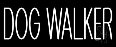 Dog Walker Neon Sign