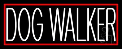 Dog Walker 1 Neon Sign