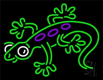 Lizard 2 LED Neon Sign