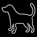 Logo Dog Neon Sign