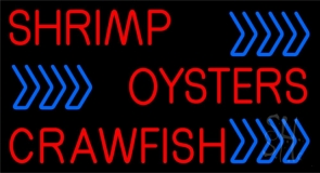 Oyster 1 LED Neon Sign