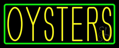 Oysters Neon Sign