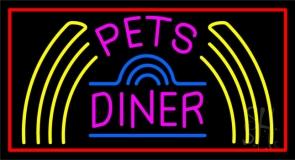 Pet Diner LED Neon Sign