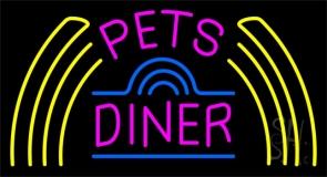 Pet Diner 1 LED Neon Sign