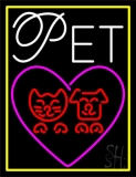 Pet Logo Neon Sign