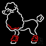 Poodle Neon Sign