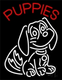 Puppies Logo 1 Neon Sign