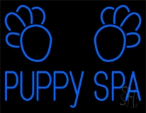 Puppy Spa Neon Sign