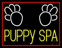 Puppy Spa 1 Neon Sign
