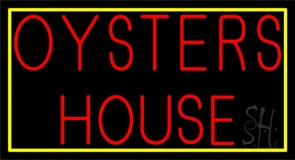 Red Oyster House 1 LED Neon Sign