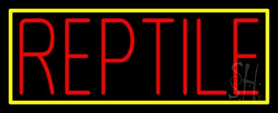 Reptile Block 1 Neon Sign