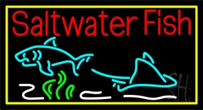 Saltwater Fish 1 Neon Sign