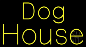 The Dog House Neon Sign