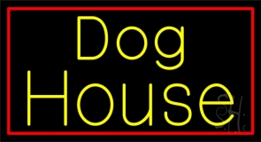 The Dog House 1 Neon Sign