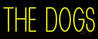 The Dog Neon Sign