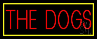 The Dog 1 Neon Sign