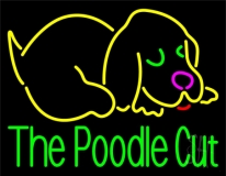 The Poodle Cut 1 Neon Sign