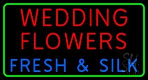 Wedding Flowers Neon Sign